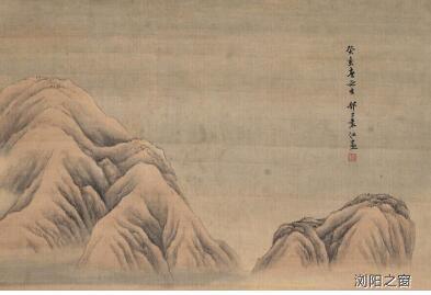 清代知名画家袁江画作的艺术特点