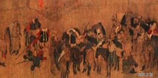 契丹画家胡壤《卓歇图》的内容和艺术风格