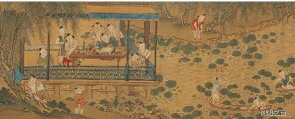 [人民币图片]北宋画家苏汉臣:人物、士女及佛道宗教画造诣极深