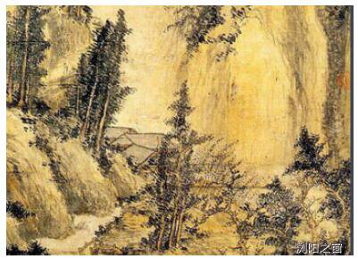 [中国金币收藏网]古代名画《神岳琼林图》:画面充满了跌宕的动感