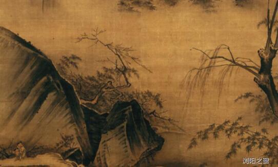 「秦半两价格」马远寒江独钓图,将唐人诗意跃然纸上