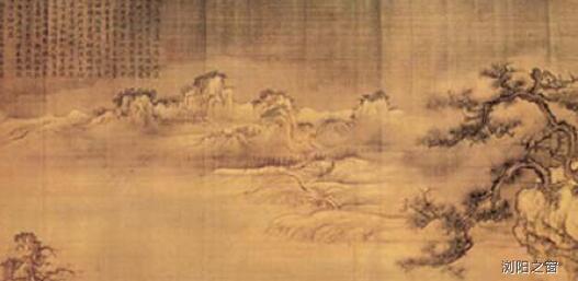 [天才收藏家]传为宋代驸马爷王诜的作品《渔村小雪图》