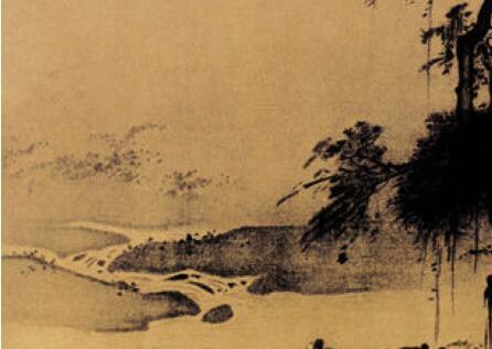 「猪砂图片」古代半边画名家:古代名画师夏圭