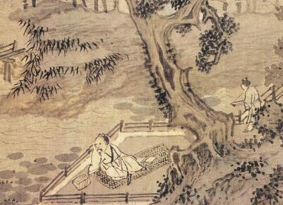 明代画家谢时臣,尤善画水,江河湖海,种种皆妙