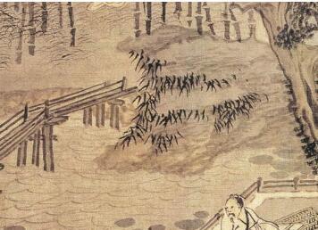 「敦煌莫高窟图片」明画家谢时臣作品多构为长卷巨幛