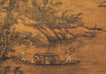 明代画家周文靖作品《茂叔爱莲图》流入日本引发关注