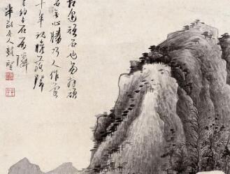[烟盒收藏]明画家龚贤:笔笔有古意的画法