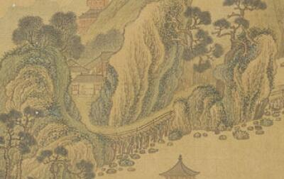 [收藏马未都]松江派画家宋懋晋 善写松,题跋尤奕奕有风韵