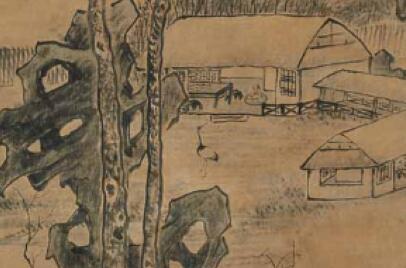 「地藏王菩萨图片」画家陈继儒,擅长墨梅、山水