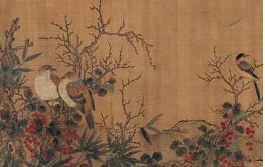 「宣纸价格」北宋画家刘永年,系名画《商岩熙乐图》作者