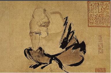 「金陵十二钗图片」成都古代名人:五代末宋初画家石恪