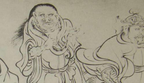 [字画装裱机]画家吴道子入京作画的故事颇有一番传奇色彩